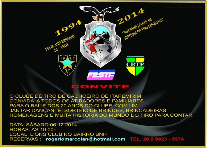 CONVITE DO BAILE