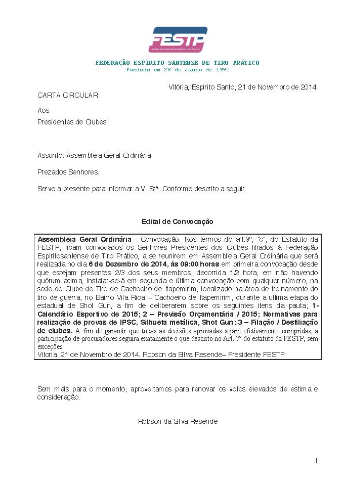 Edital Assembleia 061214