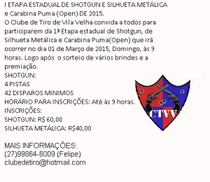 Convite 1ª Etapa Estadual de Shotgun de 2015 JPEG