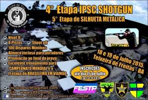 4 etapa shot gun e 5 silhueta metalica