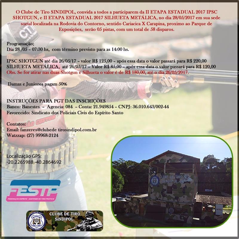 convite shot gun sindipol 280517